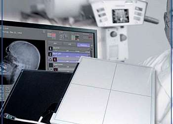 Detector de raio x hospitalar