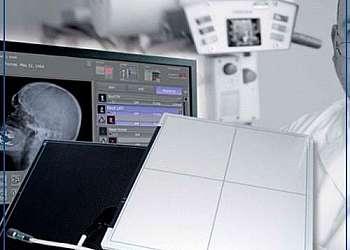 Detector raio x hospitalar